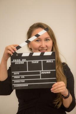 Anna Rudakova della squadra EventLabs