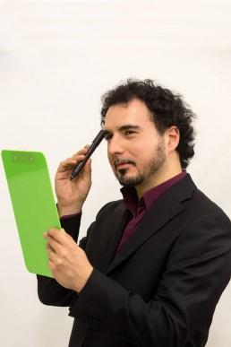 Francesco Ferrarelli della squadra di EventLabs