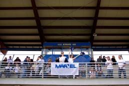 Amichevole calcio Marvel contro Toro