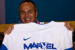 Partita calcio squadra aziendale Marvel